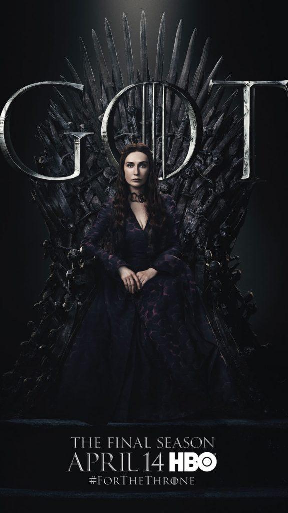Melisandre GOT Season 8 character poster