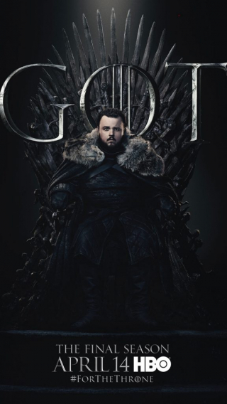 Sam Tarly GOT Season 8 character poster