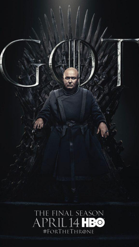 Varys GOT Season 8 character poster