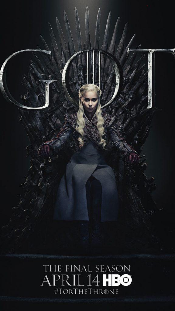 Daenerys Targaryen GOT Season 8 character poster