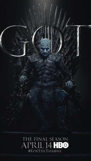 Night King Sandor Clegane Hound GOT Season 8 character poster