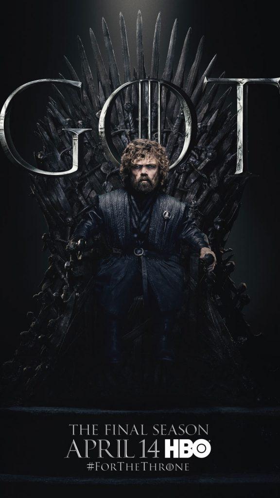 Tyrion Lannister GOT Season 8 character poster