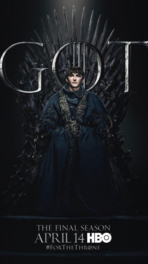 Bran Stark GOT Season 8 character poster