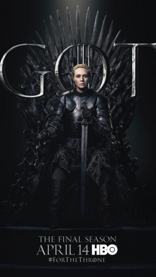 Brienne of Tarth GOT Season 8 character poster