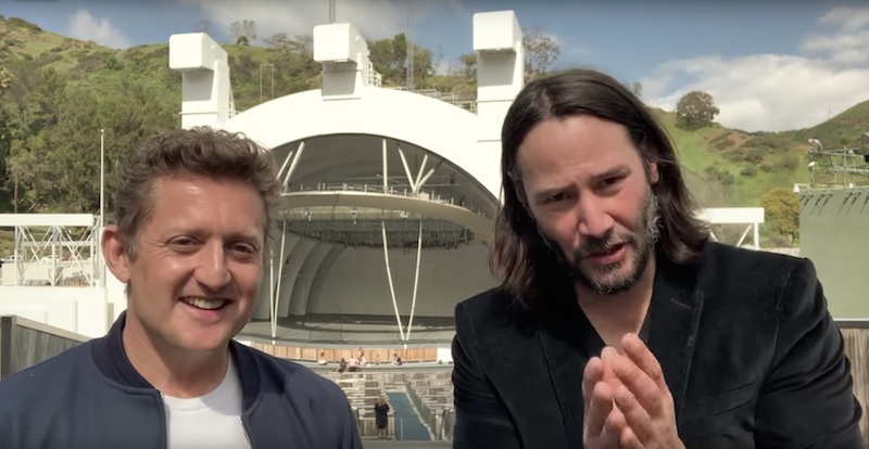 Keanu Reeves and Alex Winter confirm Bill & Ted 3, dudes!