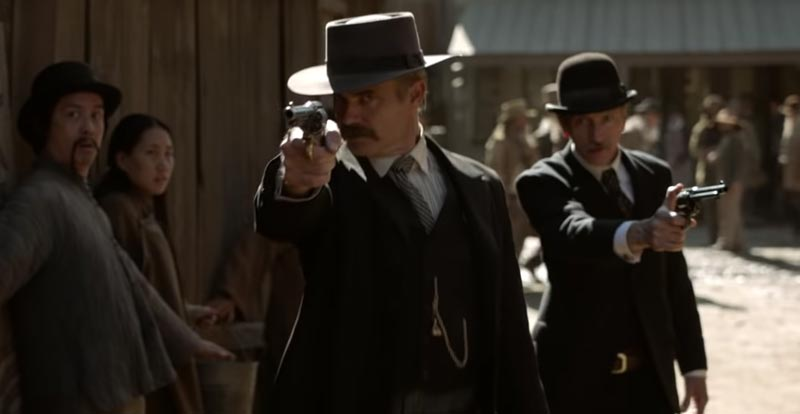 Why looky here, it's a Deadwood movie teaser!