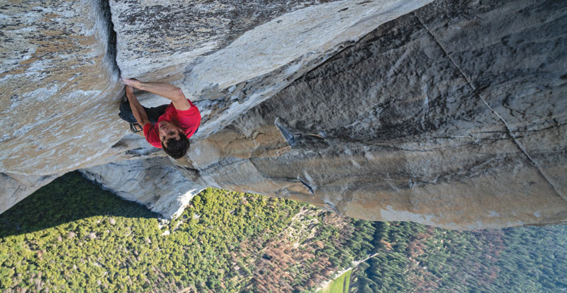Free Solo on DVD now, and on Blu-ray April 17