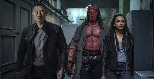 Getting deeper and darker with Hellboy