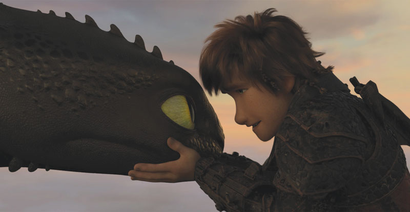 How to Train Your Dragon: The Hidden World on DVD, Blu-ray & 4K April 10