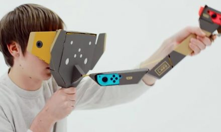 Nintendo Labo heading into VR