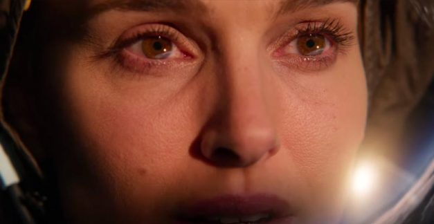 Natalie Portman spaces out in Lucy in the Sky