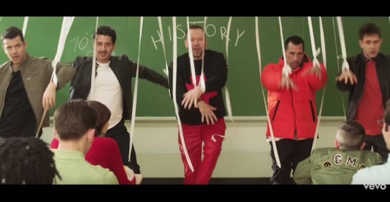 New Kids On The Block Give A History Lesson In Boy Bands