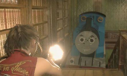 Resident Evil 2 gets Thomas the Tank Engine
