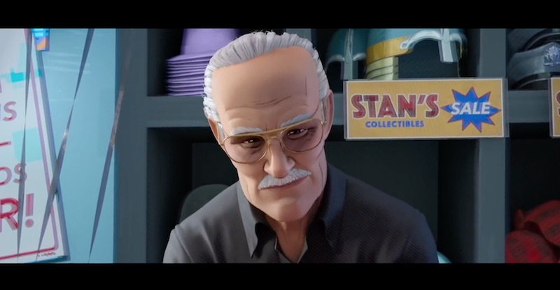 Spider-Man: Into the Spider-Verse creators discuss Stan Lee's cameo