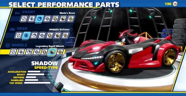 Team Sonic Racing bringing the mods