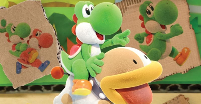 Yoshi's Crafted World 101