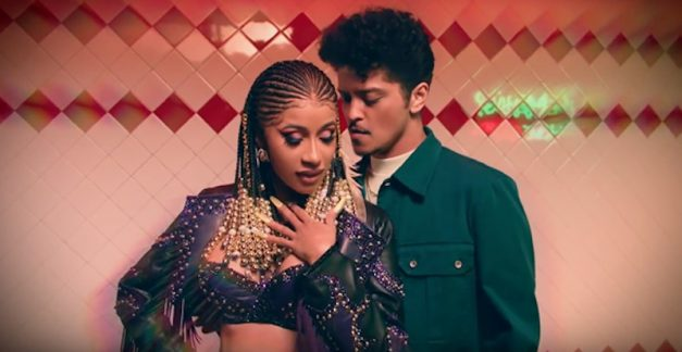 Cardi B and Bruno Mars have dropped their video for 'Please Me'
