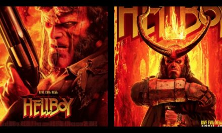 Fierce and fiery new Hellboy trailer bursts in