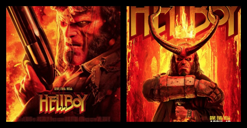 Movie Poster 2019: Fierce And Fiery New Hellboy Trailer Bursts In