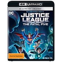 4K April 2019 - Justice League vs the Fatal Five