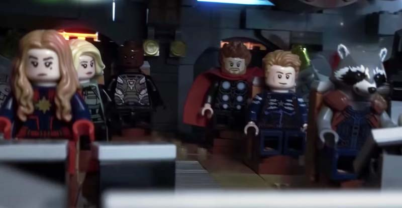 Avengers: Endgame – the LEGO trailer