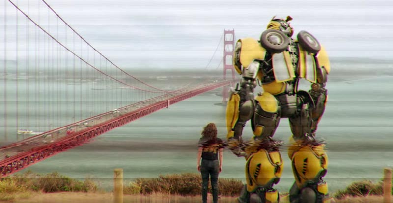 Check out the Bumblebee VHS trailer!
