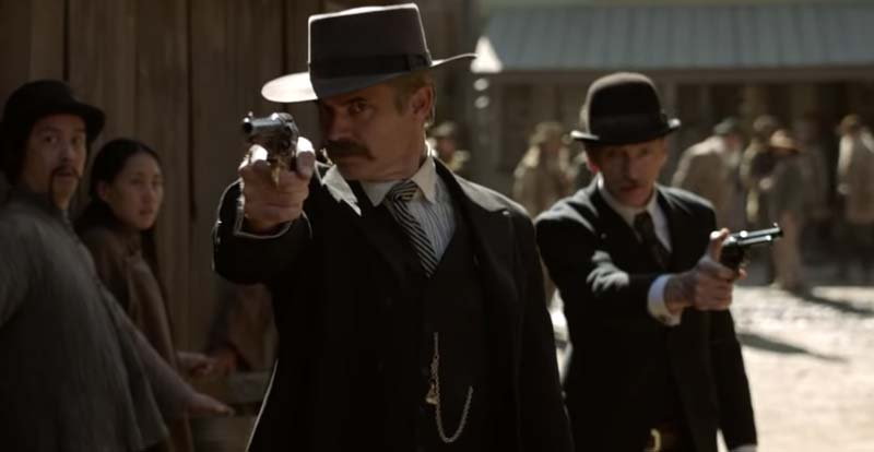 It's coming for us! New look at Deadwood: The Movie