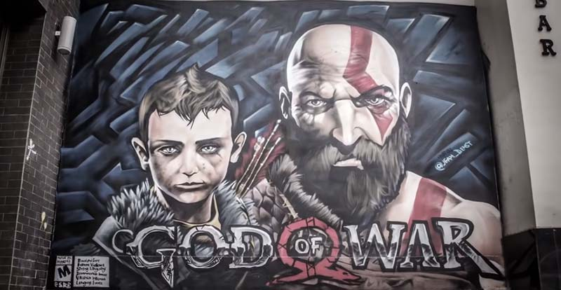 "God of War team say ""thank you"""