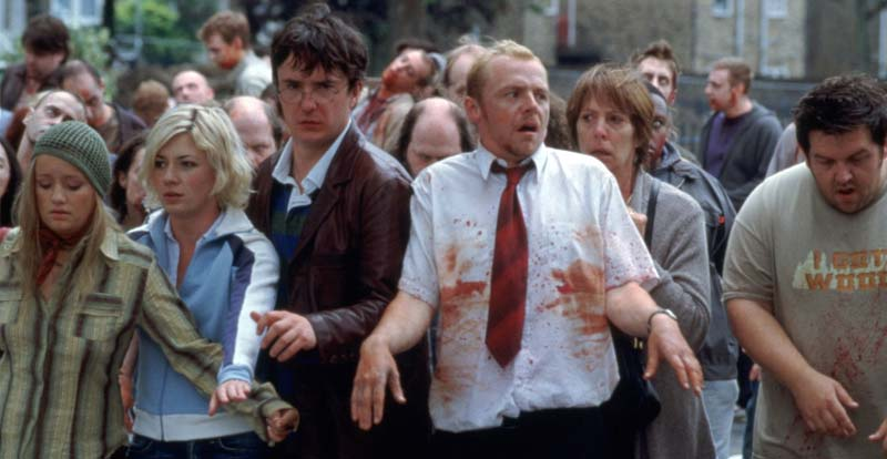 Reference hunting in Shaun of the Dead