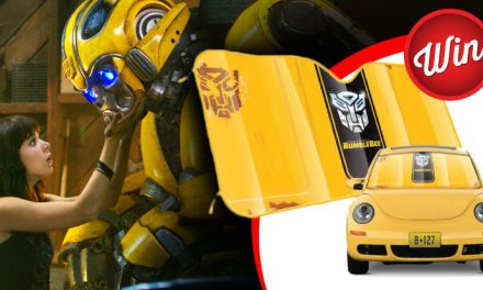 Win one of 15 Bumblebee car shades