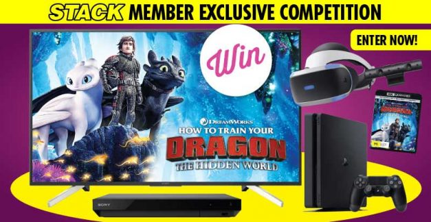 STACK member competition: Win a Sony Ultra 4K TV, Blu-ray, PlayStation and VR Pack