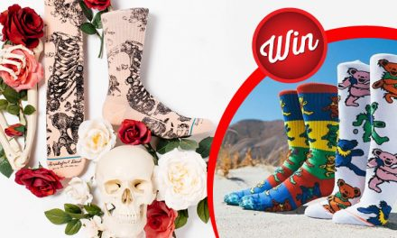 Win The Grateful Dead socks by Stance