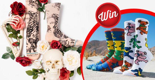 Win The Grateful Dead socks by Stance