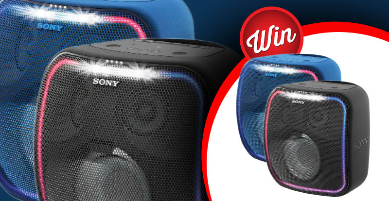 Win a Sony extra bass bluetooth speaker
