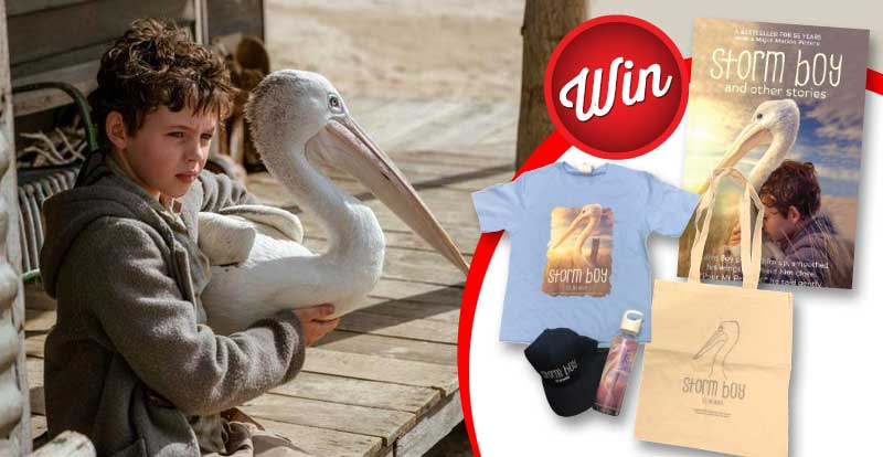 Win one of three Storm Boy prize-packs