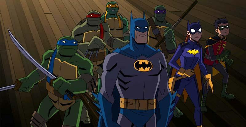 4K June 2019 - Batman vs Teenage Mutant Ninja Turtles