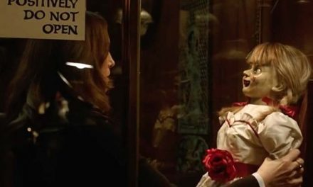 Nice doll… A new look at Annabelle Comes Home