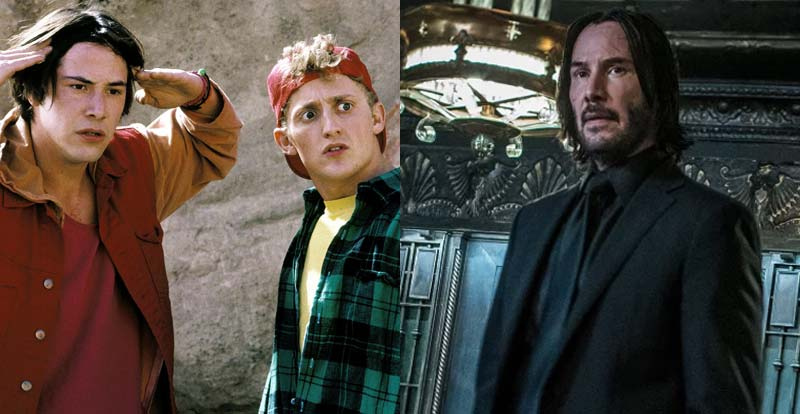 Excellent! Bill and Ted meet John Wick