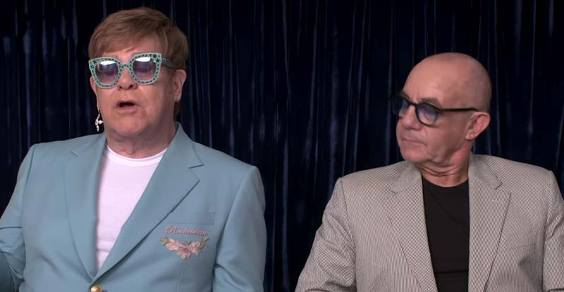 Elton John and Bernie Taupin talk Rocketman