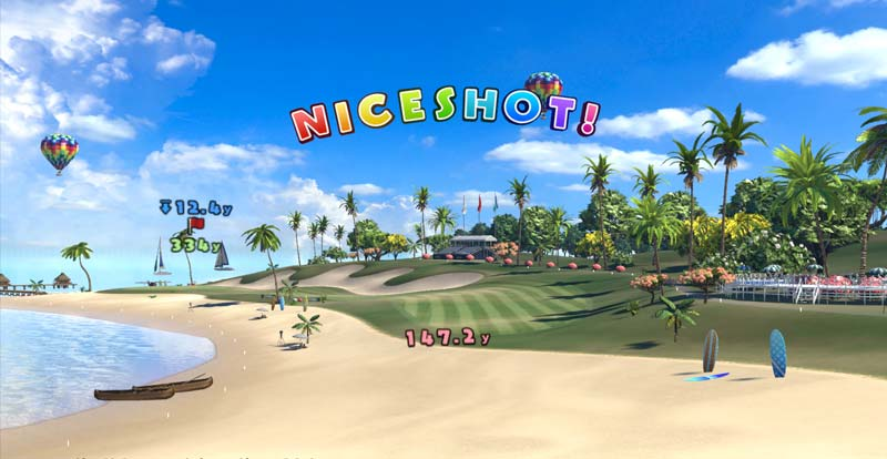 Everybody's Golf VR – review