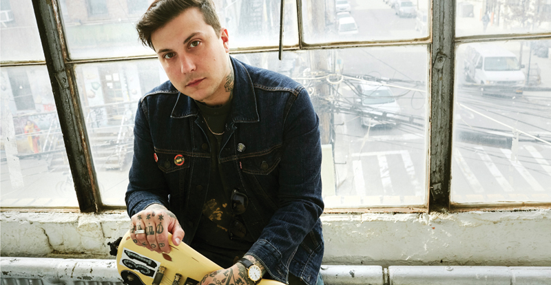 Hope, regret and absurdity: A chat with Frank Iero