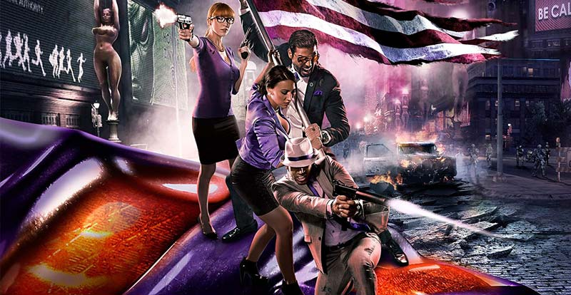 Lock up your purple, a Saints Row movie is coming!