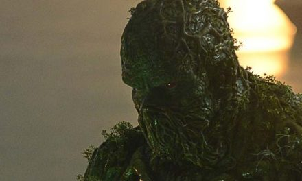 Something's out there… Hello Swamp Thing!