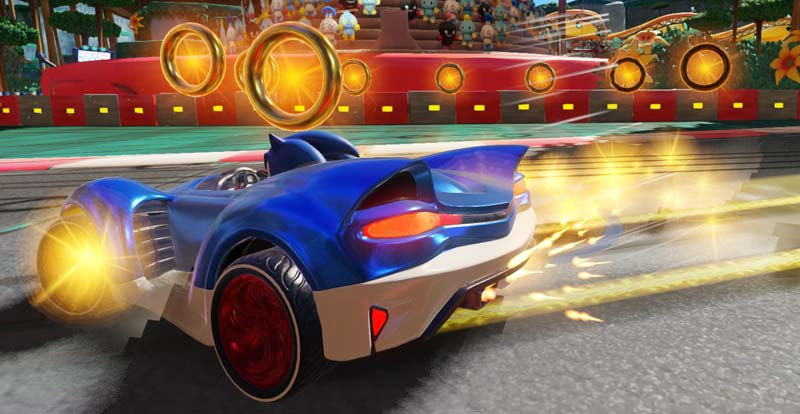 Road hogs! Team Sonic Racing interview