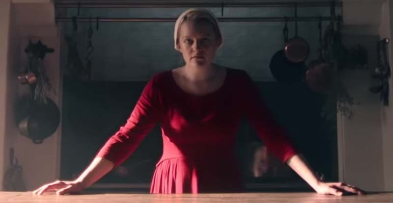 Blessed be! It's a preview of The Handmaid's Tale S3