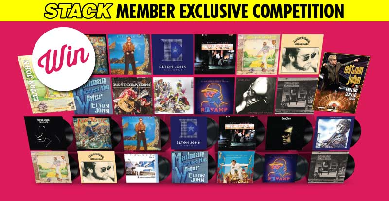 STACK member competition: Win an ultimate Elton John CD and vinyl collection