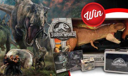 Score a Jurassic monster mayhem pack