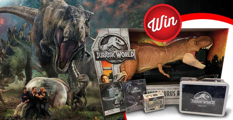 Score a Jurassic monster mayhem pack