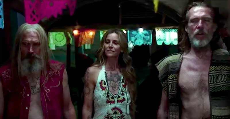 Rob Zombie's 3 from Hell teaser trailer drops