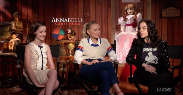 Annabelle Comes Home cast & crew interview